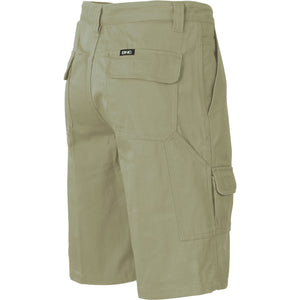 Cotton Drill Cargo Shorts - 3302