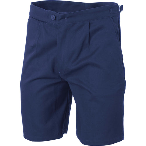 Cotton Drill Long Leg Utility Shorts - 3307