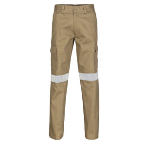 Cotton Drill Cargo Pants With 3M R/Tape - 3319