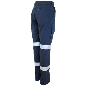Ladies Double Hoops Taped Cargo Pants - 3330