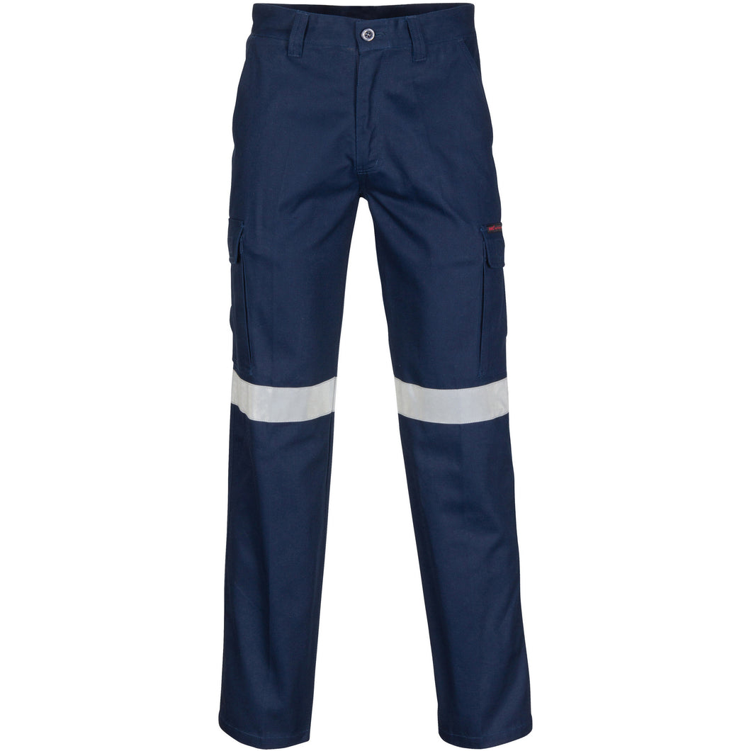 Middle Weight Cotton Double Angled Cargo Pants With CRS Reflective Tape - 3360