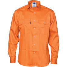 Load image into Gallery viewer, Patron Saint® Flame Retardant Drill Shirt, Long Sleeve - 3402