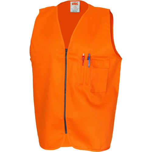 Patron Saint Flame Retardant Drill ARC Rated Safety Vest - 3403