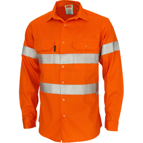 Patron Saint Flame Retardant ARC Rated Taped Shirt with 3M F/R Tape - L/S - 3405