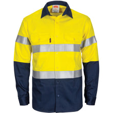 Load image into Gallery viewer, Paton Saint Flame Retardant 2 Tone Cotton Shirt with 3M F/R Tape - L/S - 3409