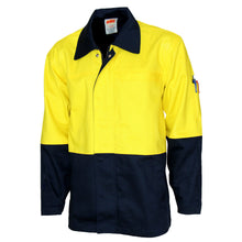 Load image into Gallery viewer, Patron Saint® Flame Retardant Two Tone Drill Welder's Jacket - 3431