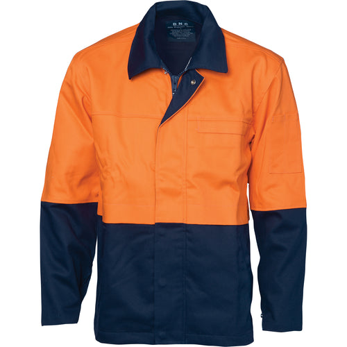 Patron Saint® Flame Retardant Two Tone Drill Welder's Jacket - 3431