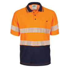 Load image into Gallery viewer, HIVIS Segment Taped Cotton Backed Polo - Short Sleeve - 3517