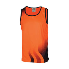 Load image into Gallery viewer, WAVE HIVIS SUBLIMATED SINGLET - 3561