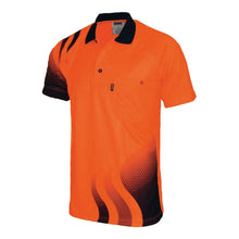 Load image into Gallery viewer, WAVE HIVIS SUBLIMATED POLO - 3563