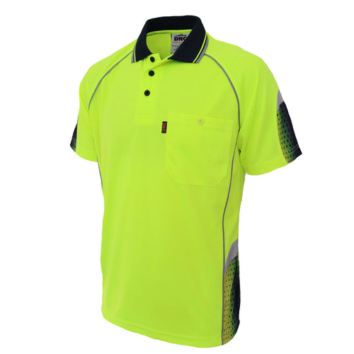 Hi-Vis GALAXY Sublimated Polo - 3564