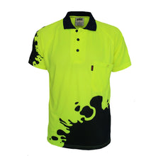 Load image into Gallery viewer, Hivis Sublimated Blot Polo - 3567