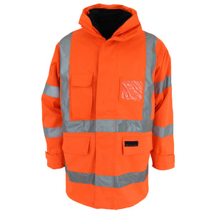 "HiVis ""6 in 1"" Breathable rain jacket Biomotion - 3572"