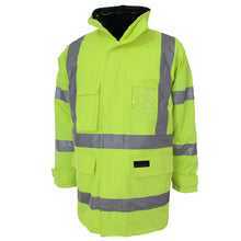 "Load image into Gallery viewer, HiVis ""6 in 1"" Breathable rain jacket Biomotion - 3572"