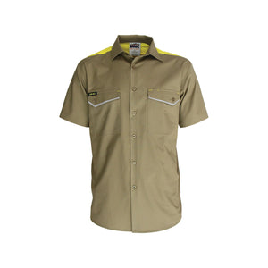 RipStop Cool Cotton Tradies Shirt, S/S - 3581