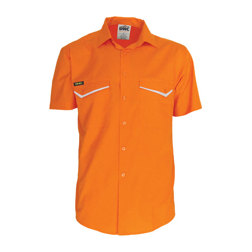 HiVis RipStop Cotton Cool Shirt, S/S - 3583