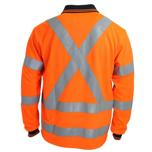 "Hi-Vis ""X' Back & Bio-motion Taped Polo - 3710"