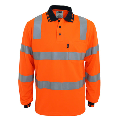 HiVis Biomotion Tapped Polo L/S - 3713