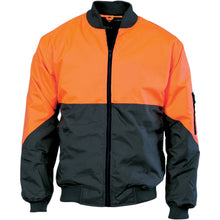 Load image into Gallery viewer, HIVIS 2 TONE DAY BOMBER JACKET - 3761