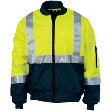 Load image into Gallery viewer, HIVIS 2 TONE BOMBER JACKET WITH CSR R/TAPE - 3762