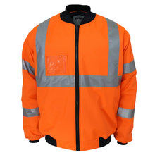 "Load image into Gallery viewer, HiVis ""X"" back flying jacket Biomotion tape - 3763"