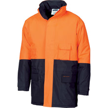 Load image into Gallery viewer, HiVis two tone parka - 3766