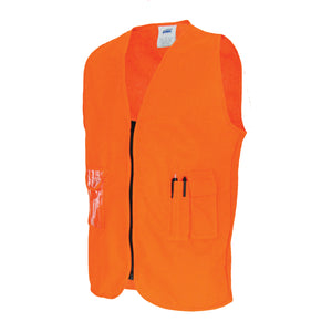 Daytime Side Panel Safety Vests - 3806