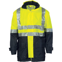 Load image into Gallery viewer, HiVis Two Tone Breathable Rain Jacket with 3M R/ Tape - 3867