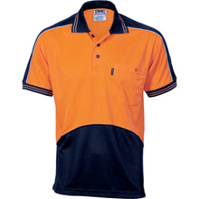 Load image into Gallery viewer, HiVis Cool Breathe Panel Polo Shirt - Short Sleeve - 3891