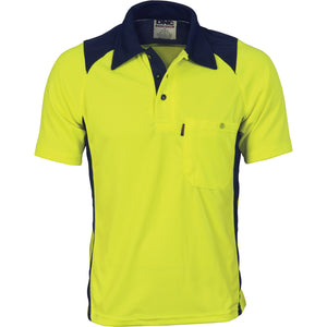 Cool Breathe Action Polo Shirt - Short Sleeve - 3893