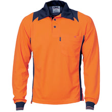 Load image into Gallery viewer, Cool Breathe Action Polo Shirt - Long Sleeve - 3894