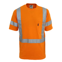 Load image into Gallery viewer, Hi-Vis Cotton taped Tee Short Sleeve - 3917