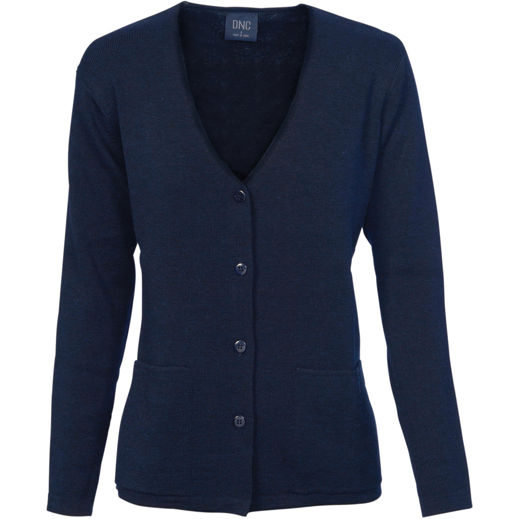 Ladies Cardigan - Wool Blend - 4332