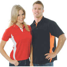 Load image into Gallery viewer, Adult Cool-Breathe Contrast Polo - 5221