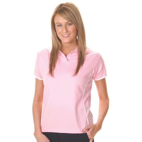 Ladies Cool-Breathe Piping Polo - 5225