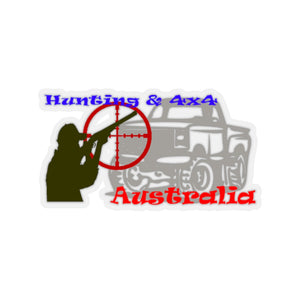 Hunting & 4x4 Australia Kiss-Cut Stickers