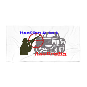Hunting & 4x4 Australia Beach Towel