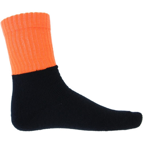 HIVIS Two Tone Acrylic 3 Pack Work Socks - S123