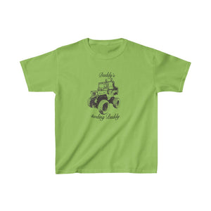 "Kids ""Daddy's 4WDing Buddy"" Heavy Cotton Tee"