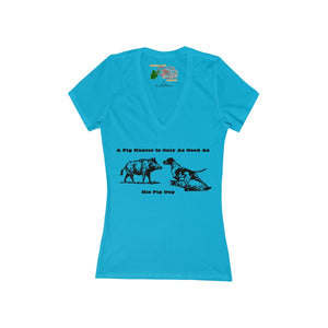Pig Hunter Women T-shirt