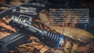 Olight Warrior X 2000 lumen 560m rechargeable Hunting Kit