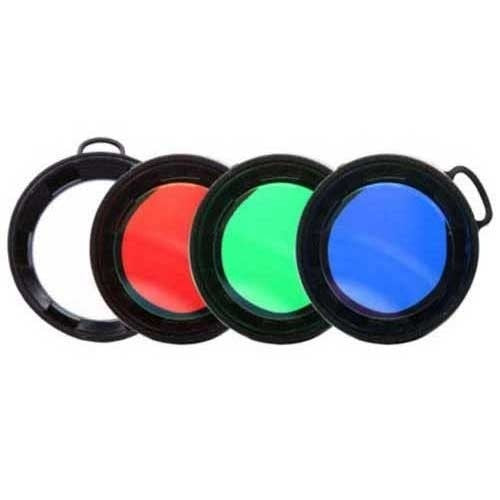 Olight 63mm filter: red, green, blue or diffused