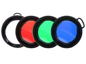Olight 40mm filter: red, green, blue or diffused