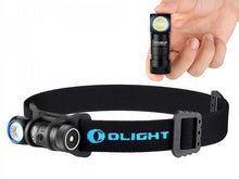 Load image into Gallery viewer, Olight H1R Nova 600 lumen compact rechargeable LED headlamp and torch