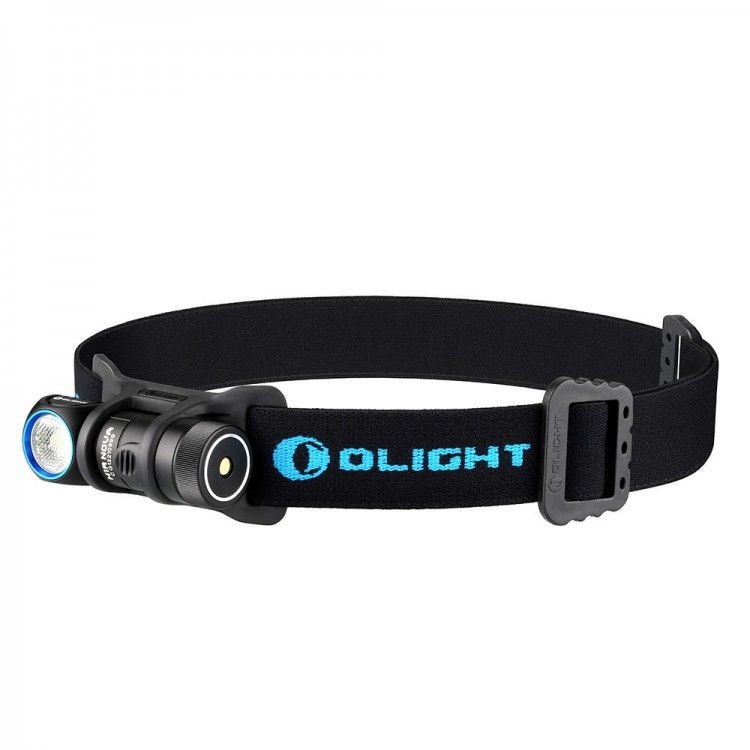 Olight H1R Nova 600 lumen compact rechargeable LED headlamp and torch