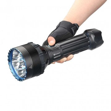 Olight X9R Marauder 25000 lumen rechargeable LED searchlight