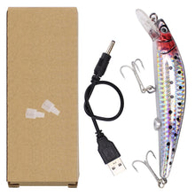 Load image into Gallery viewer, Rechargeable Twitching Fishing Lure