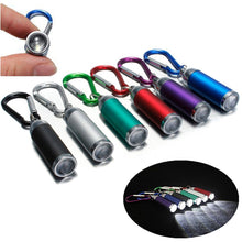 Load image into Gallery viewer, Mini LED Flashlight Torch KeyChain