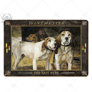 Man cave Hunting Tin Signs