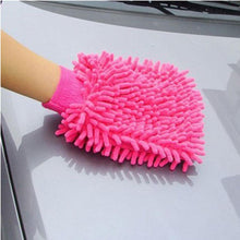 Load image into Gallery viewer, Microfiber Car Wash Glove Sponge